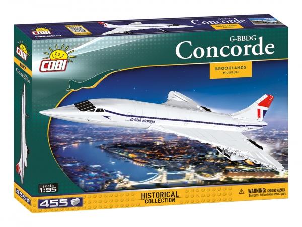 Cobi: Action Town. Concorde G-BBDG (1917)