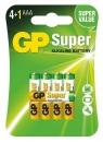 5 x GP Super Alkaline LR03/AAA