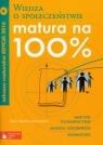 Matura na 100% Wiedza o społeczeństwie Arkusze maturalne 2010 z płytą CD Kunicka-Goldfinger Agata