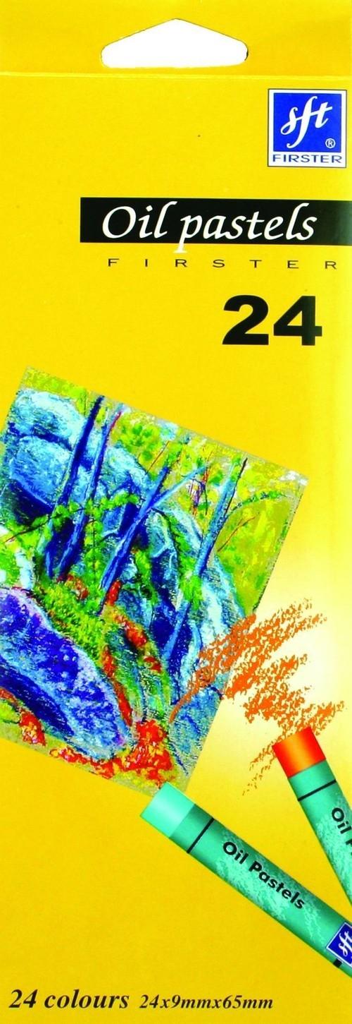 Pastele olejne 24 kolory (117243)