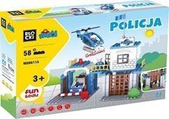 Klocki Blocki: Mubi. Policja 58 elementów