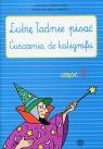 Lubię ładnie pisać Ćwiczenia do kaligrafii Część 2 Czerkas-Polit Agnieszka, Sirak-Stopińska Katarzyna