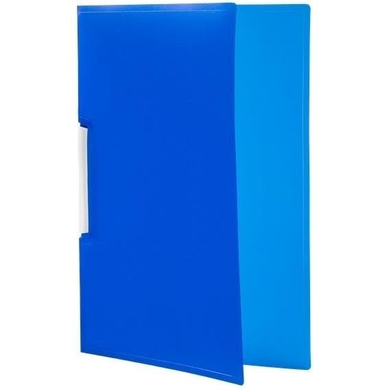 Skoroszyt Tetis PP zaciskowy A4, 12 szt. - niebieski (BT620-N)