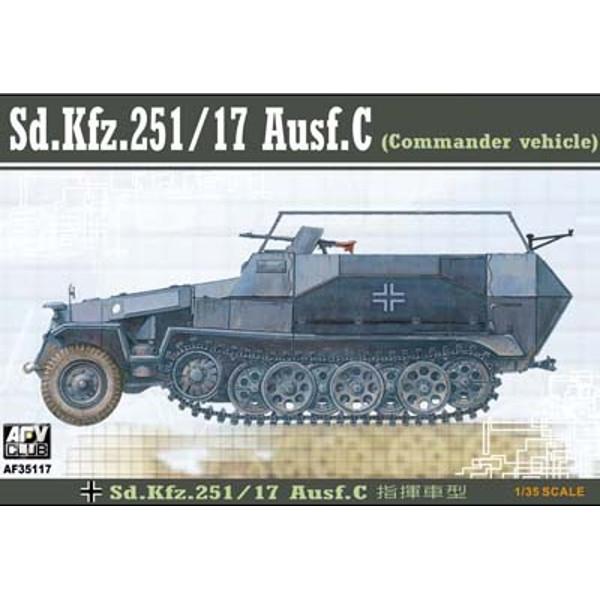 AFV Sd.Kfz.25117 Ausf.C (commander Veh) (35117)