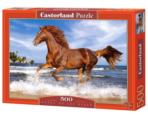 Puzzle 500 Horse on the Beach (51175)