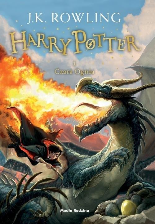 Harry Potter i Czara Ognia. Tom 4 Rowling Joanne K.