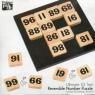 Łamigłówka drewniana IQ Reversible Number Puzzle