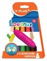 Kredki świecowe Peanut 12 kolorów