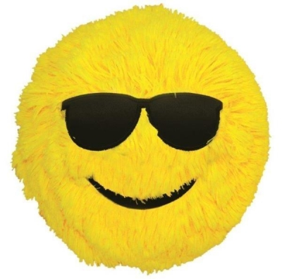 Piłka Fuzzy Ball S'cool Smarty żółta S