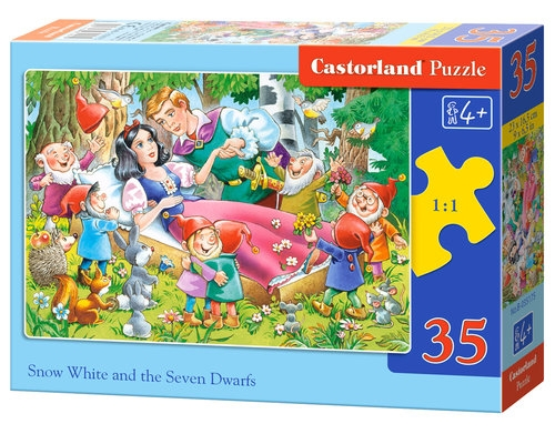 Puzzle Snow White and the Seven Dwarfs 35 elementów (035175)
