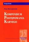 Kompendium postępowania karnego Mierzejewski Piotr