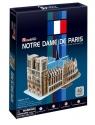 Puzzle 3D: Katedra Notre Dame w Paryżu (306-20717)