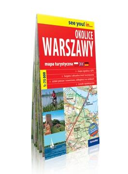 Okolice Warszawy 1:75 000. Mapa turystyczna praca zbiorowa