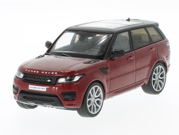 Land Rover Range Rover Sport 2014 (metallic red/black) (200028)