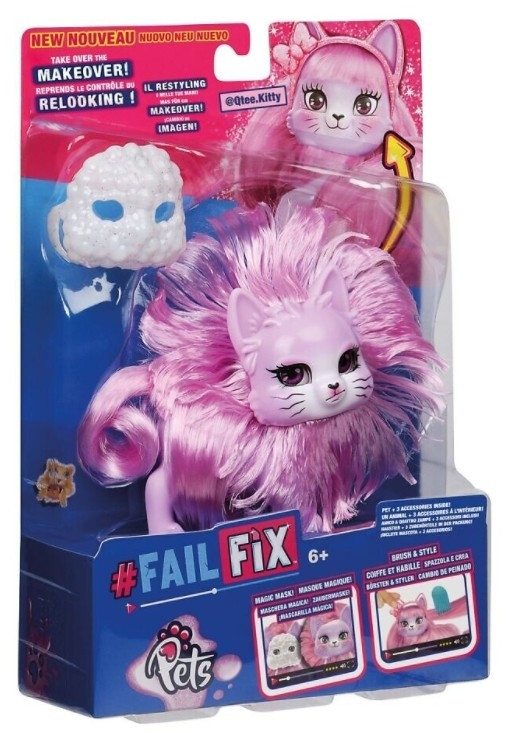 Figurka FAILFIX - Zwierzaki Metamorfoza Qtee.Kitty (MO-12815/MO-12817)