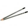 Ołówek Grip 2001 2,5HB z gumką srebrny FC117223