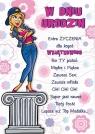 Karnet Comic B6 + koperta wzór nr 17