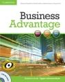 Business Advantage Upper-intermediate Student's Book + DVD Handford Michael, Lisboa Martin, Koester Almut, Pitt Angela