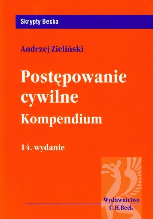 Postępowanie cywilne Kompedium Zieliński Andrzej