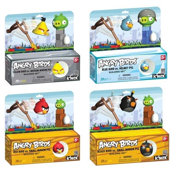 Angry Birds K'nex Building Set, 4 zestawy