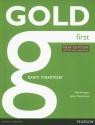 Gold First New Exam Maximiser Burgess Sally, Newbrook Jacky