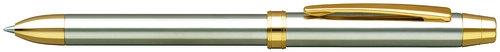 Długopis wielofunkcyjny PENAC Ele SS 0,7mm w etui srebrny/złoty