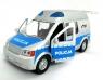Samochód policyjny VAN z światłem i dźwiękiem