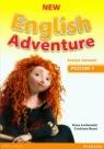 New English Adventure 1 Zeszyt ćwiczeń z płytą DVD