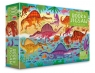 Book + Puzzle 100 Dinosaurs