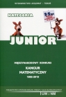 Matematyka z wesołym Kangurem Kategoria Junior