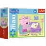 Puzzle miniMaxi 20: Zabawy Świnki Peppy 3 (56000)