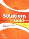 Solutions Gold Upper-Intermediate Workbook z kodem dostępu do wersji cyfrowej (e-Workbook)