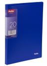 Teczka Clear Book A5 z 20 koszulkami, niebieska