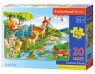 Puzzle Maxi Konturowe: Little Deers 20 (02177)