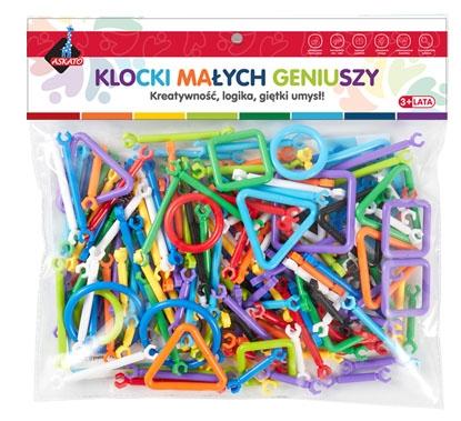 Klocki - patyczki, 173 elementów. Zestaw 1 (102177)