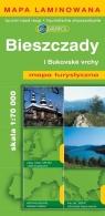Bieszczady i bukovske vrchy Mapa turystyczna 1:70 000 laminowana