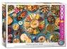 Puzzle 1000 Potrawy bliskowschodniego stołu