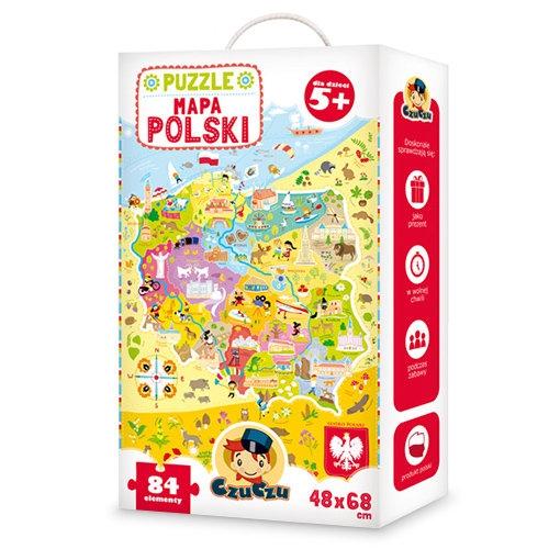 CzuCzu: Puzzle. Mapa Polski (336177)