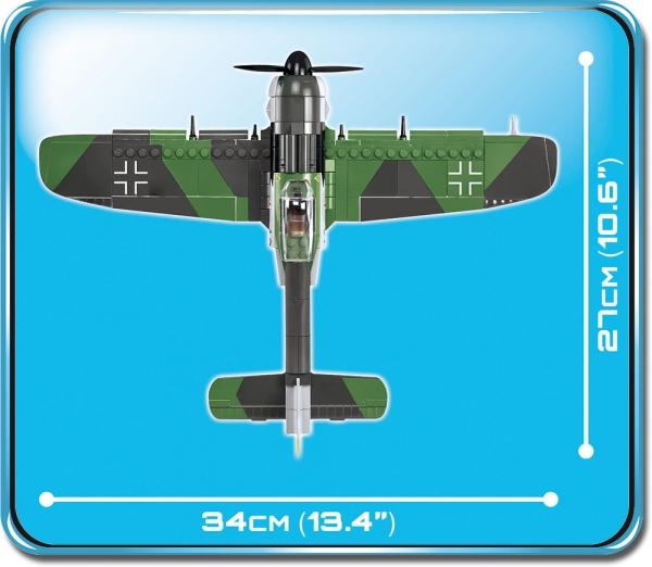 Cobi: Mała Armia. Focke-Wulf Fw190 A-8 - myśliwiec niemiecki (5704)