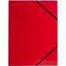 Teczka kartonowa na gumkę Tetis A4 - czerwona (BT600-C)