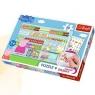 Puzzle Plus 35 elementów + Naklejki Świnka Peppa na zakupach (75117)