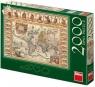 Puzzle Historyczna Mapa Świata 2000 elementów