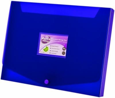 Pudełko A4 fioletowe .