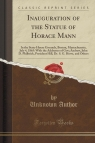 Inauguration of the Statue of Horace Mann
