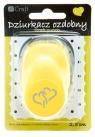 Dziurkacz ozdobny/kreatywny 2,5cm - splecione serca (JCDZ-110-134)
