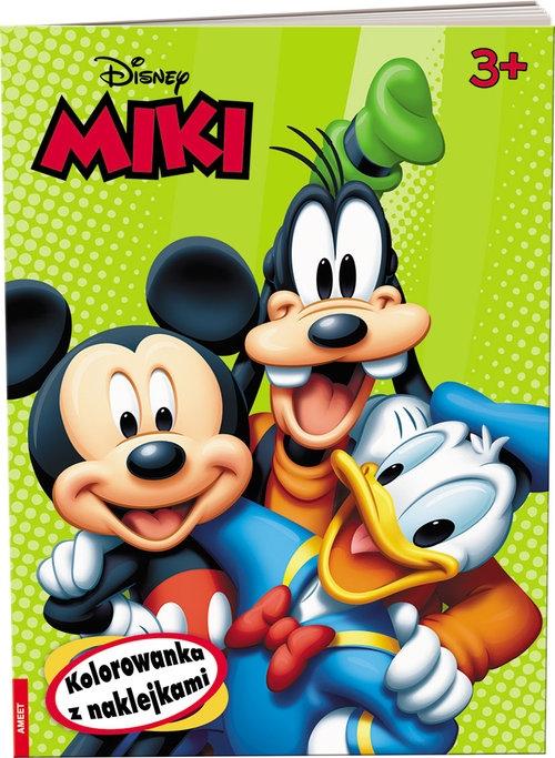 Disney Miki Kolorowanka z naklejkami