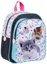 Plecak przedszkolny wycieczkowy Cleo & Frank - Koty (DRF-076178)
