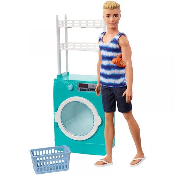 Ken lalka domowe zajęcia - pranie