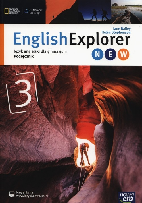 English Explorer New 3 Podręcznik Bailey Jane, Stephenson Helen