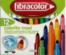Mazaki Colorito maxi 12 kol.  FIBRACOLOR